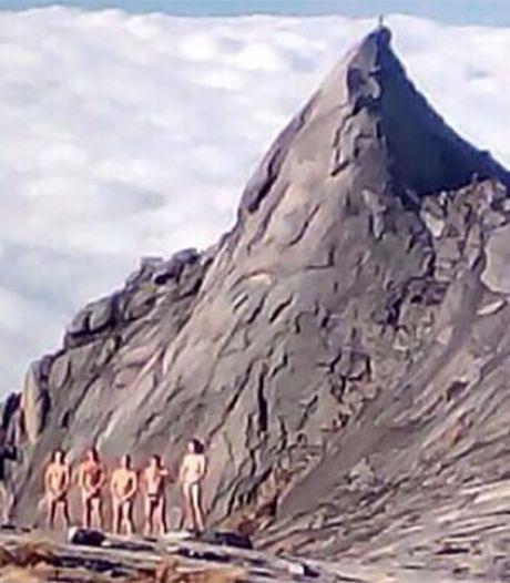 Foto's naakte bergklimmers Maleisië opgedoken