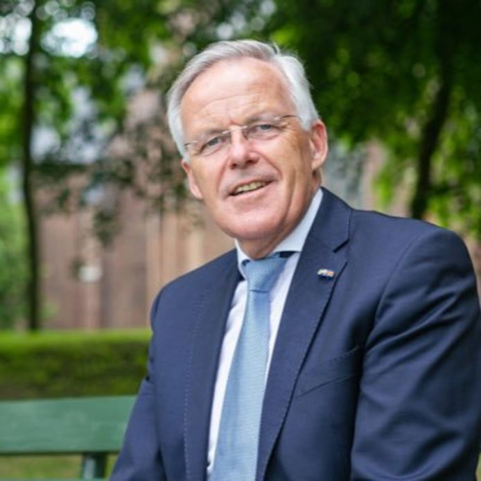 Eppie Klein, de nieuwe (waarnemend)burgemeester van Scherpenzeel.