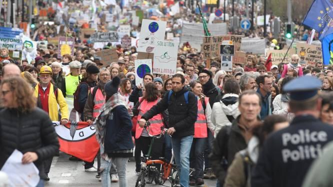 Nouvelle marche pour le climat à Bruxelles
