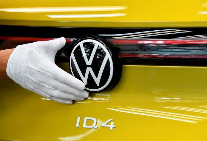 Het elektrische model ID.4 van Volkswagen