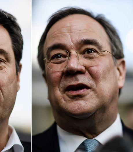 Machtsstrijd om Merkels stoel: 'der Armin' kandidaat voor zusterpartijen CDU en CSU