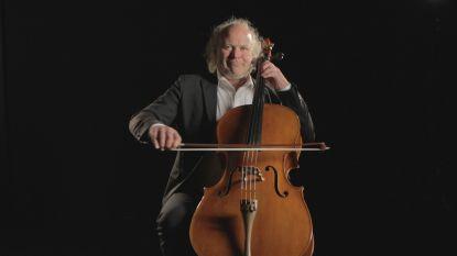 Cellist Frans Grapperhaus in De Leest
