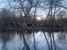 Twee aanhoudingen en één gewonde na drukte Vondelpark