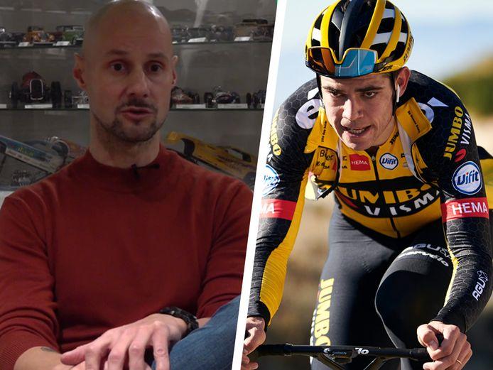 Tom Boonen en Wout van Aert.