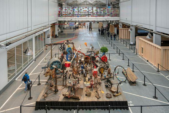 KANAL BRUT, de eerste tentoonstelling in Kanal.