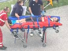 Mohoric quitte le Giro sur une chute impressionnante