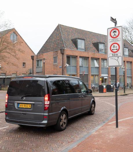 Ook bewoners met ontheffing krijgen een waarschuwing in autoluwe binnenstad: 'Frustrerend'