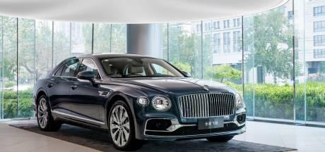 Plankgas door de crisis met de Bentley Flying Spur