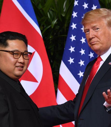 'Trump bood Kim Jong-un lift aan in Air Force One'