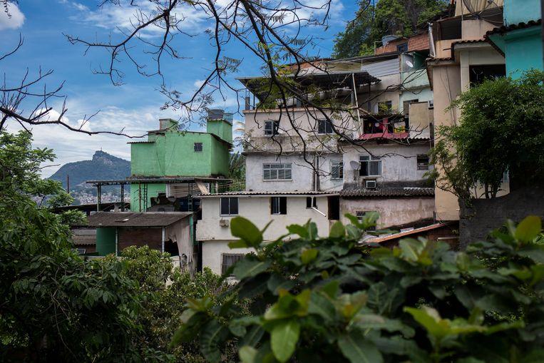 De Morro da Providência, een favela in Rio de Janeiro. Beeld Valda Nogueira
