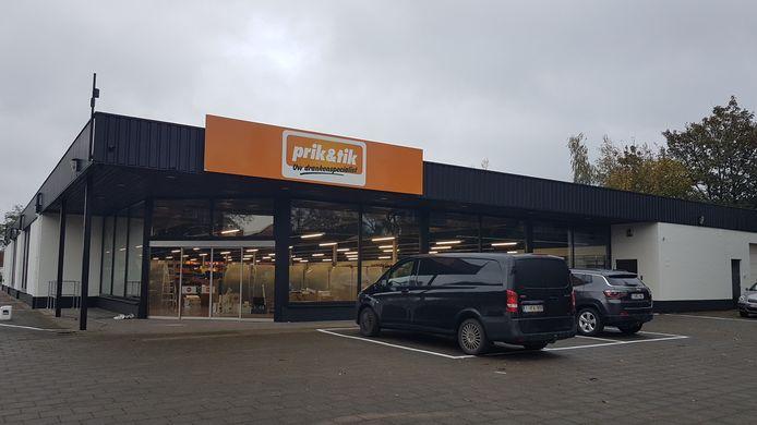 De nieuwe winkel opent woensdag.