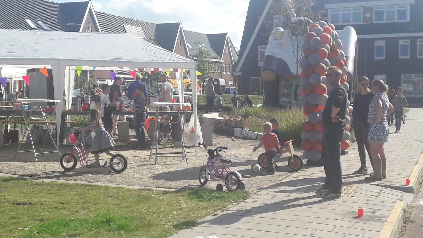 Burendag in het Willemskwartier.