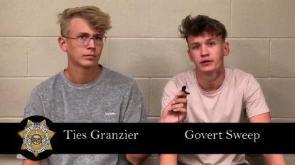 """YouTubers Govert en Ties vrijgelaten uit Amerikaanse cel nadat ze Area 51 probeerden te bezichtigen: """"We hadden meer research moeten doen"""""""