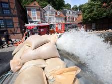 Duitsland blijft achter met schade hoog water