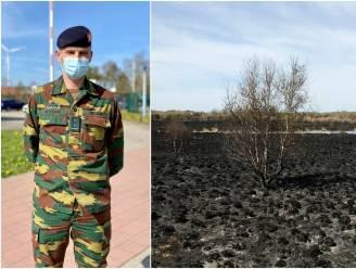 Komende twee weken geen schietoefeningen op Groot Schietveld: leger bekijkt maatregelen na natuurbrand