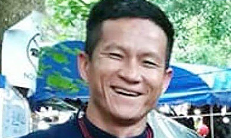 Saman Kunan, de vrijwillige duiker die om het leven kwam.