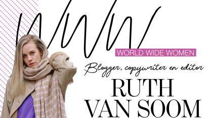 """Ruth Van Soom: """"Bloggers zijn een zeldzaam ras geworden"""""""