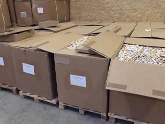 Hier rolden per minuut 2.000 sigaretten van de band