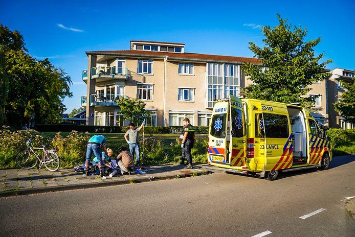 Man uit de gracht gehaald in Eindhoven.