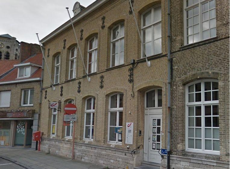 Het postkantoor in de Boterweegschaalstraat.