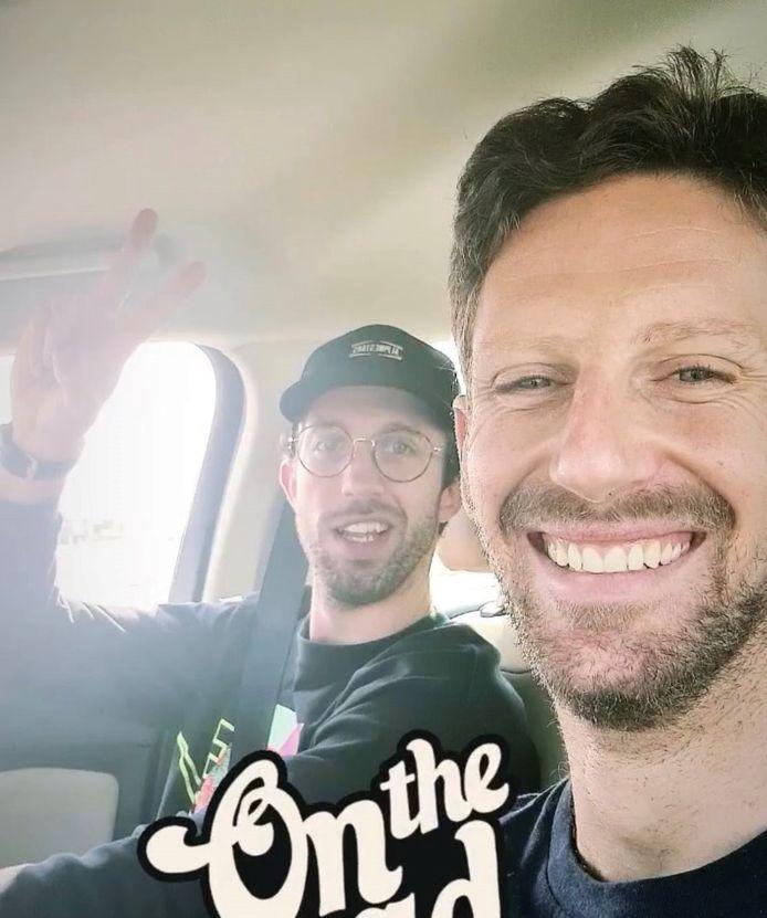 Romain Grosjean a quitté l'hôpital ce mercredi.