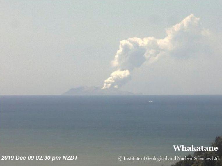 De vulkaanuitbarsting Beeld REUTERS