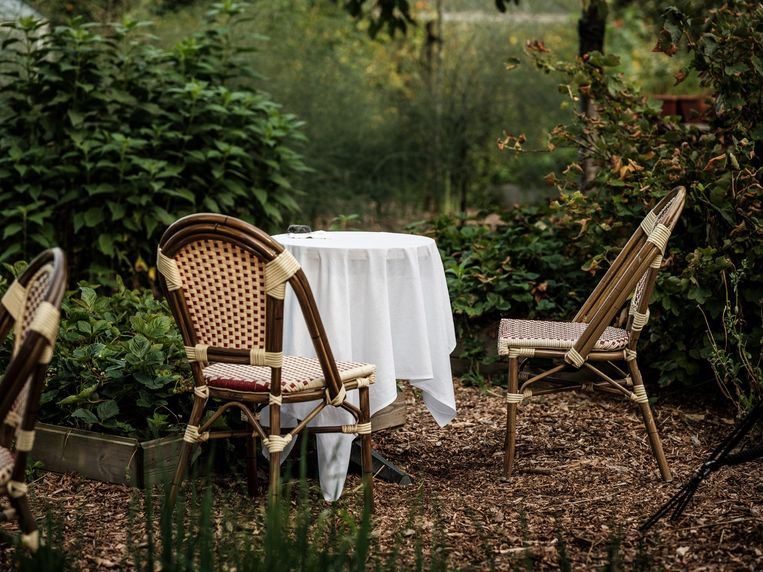 Raphaël by Willem Hiele, charmant tafelen in Koksijde.  Beeld Pieter D'hoop