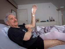 Brute zwijnenaanval na plaspauze in het bos wordt André (80) uit Epe bijna fataal: 'Hoe een mens kan bloeden zeg'