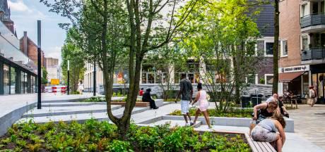 Eerste 'parkje op zakformaat' in Tilburgse stadshart valt in de smaak: 'Hartstikke leuk geworden'
