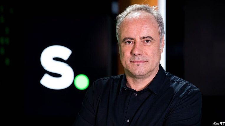 Sporza-journalist Eddy Demarez. Beeld VRT