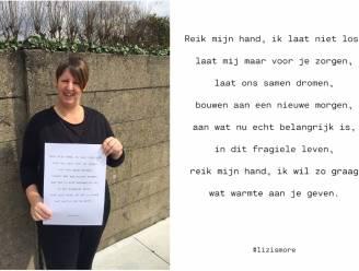 Gedicht voor brandslachtoffers te koop op posterformaat
