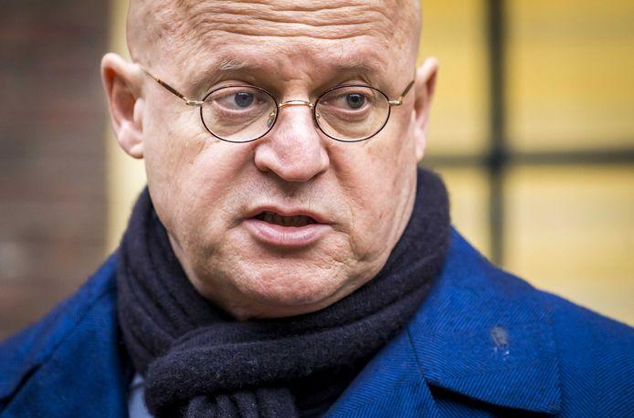 Minister Ferd Grapperhaus op het Binnenhof.