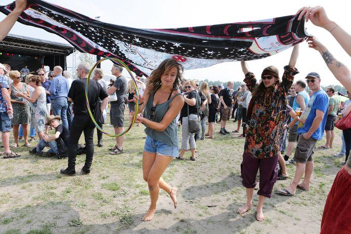 Een impressie van een eerdere editie van het Hippiefestival Gorinchem.