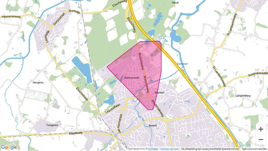 Stroomstoring in Boxtel
