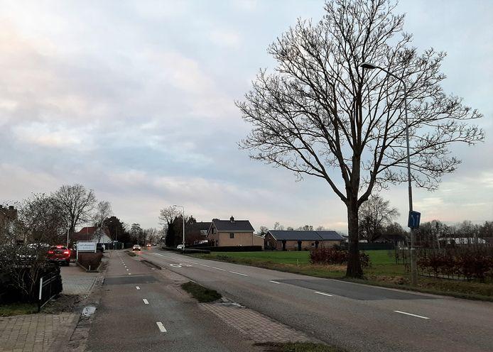 Het lapwerk van het asfalt geeft aan dat de Wordenseweg aan een update toe is. Het moet mooier en vooral veiliger worden.