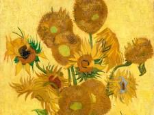 Muurschildering geënt op Van Gogh aan de Ringbaan Noord