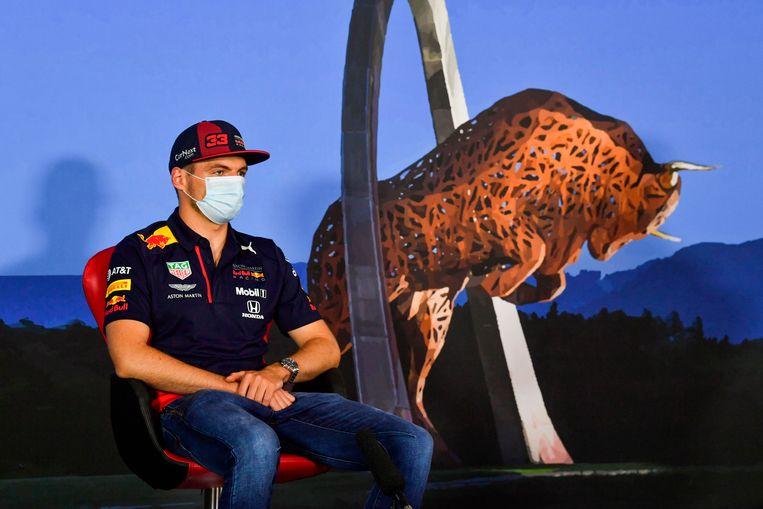Formule 1-coureur Max Verstappen. Beeld AFP
