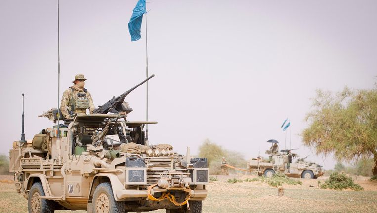 Nederlandse militairen in Mali Beeld ANP
