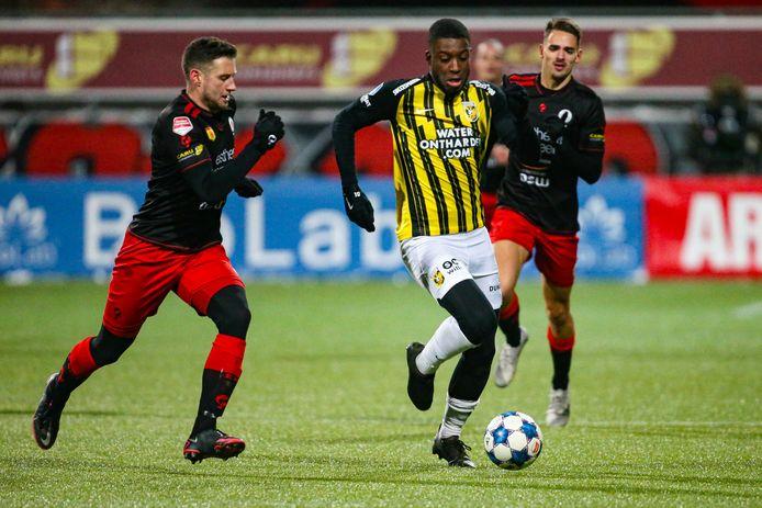 Vitesse won afgelopen dinsdag met 0-1 bij Excelsior.