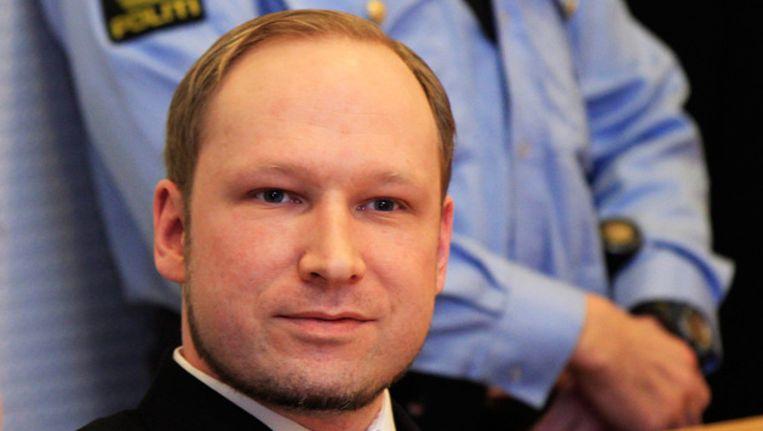 Anders Breivik. Beeld FOTO EPA