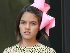 Chagrijnige dochter Tom Cruise shopt in de allerduurste haute couturewinkels