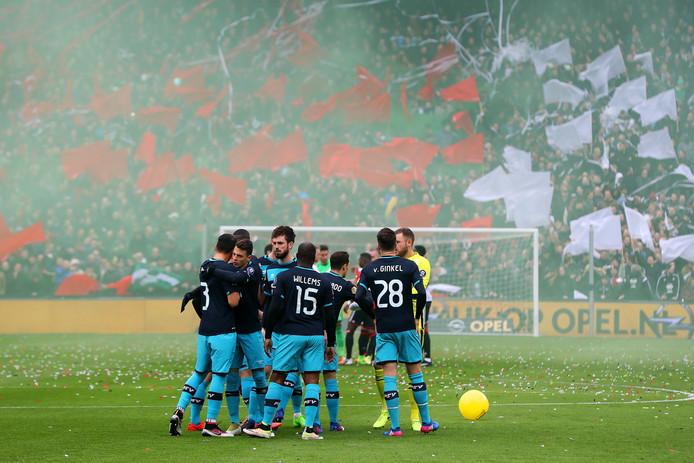 PSV zag zondag de hoop op een derde landstitel op rij vervliegen.