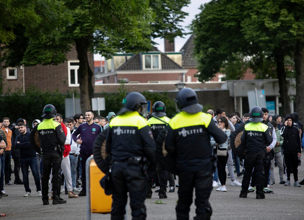 Betoging in Eindhoven op 26 mei 2019.