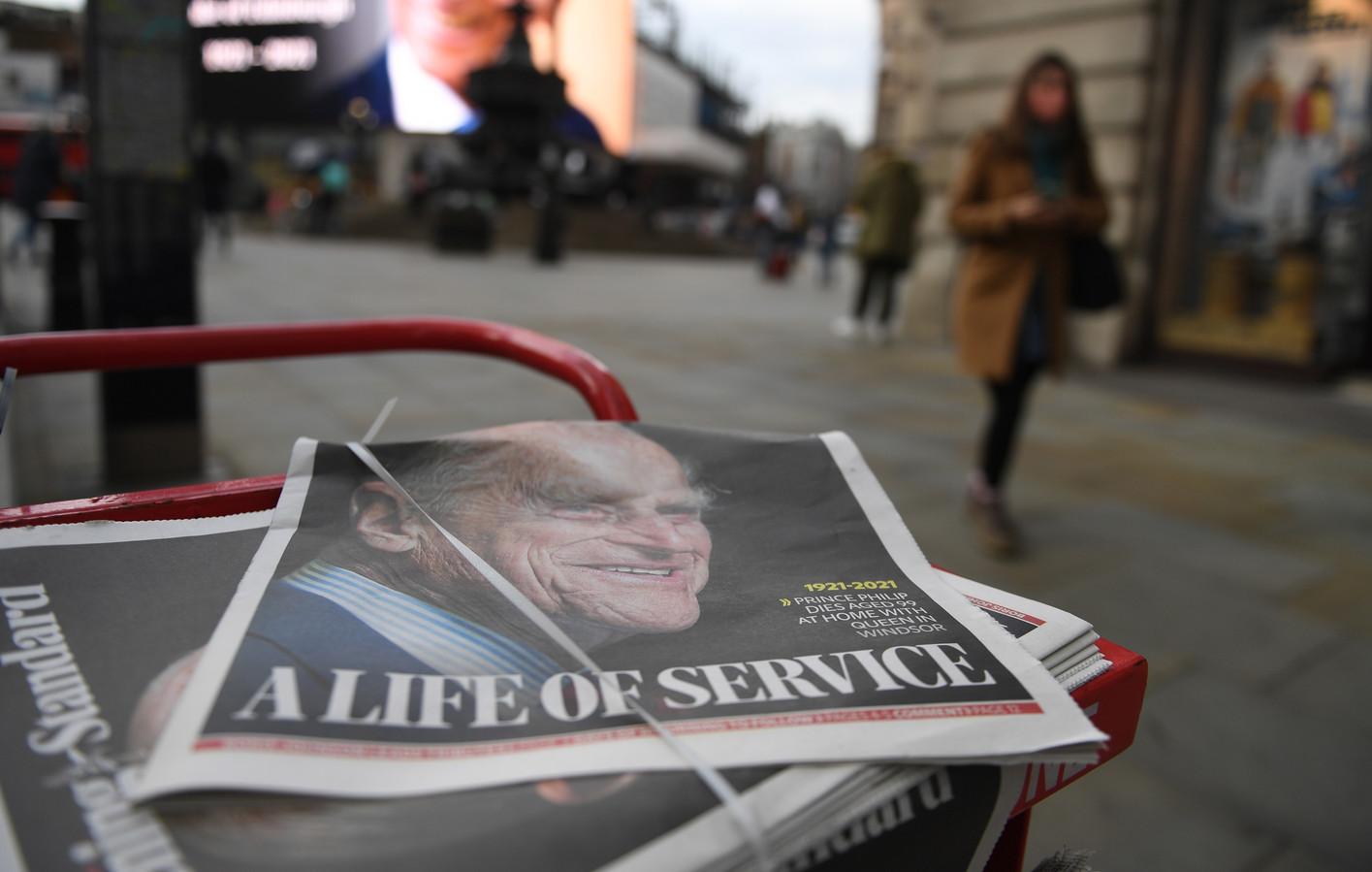 Illustration de la une du Evening Standard