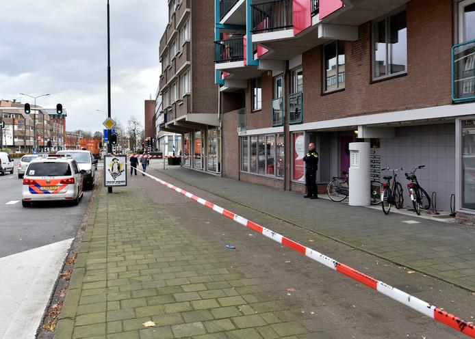 De plek in Helmond waar het incident plaatsvond.