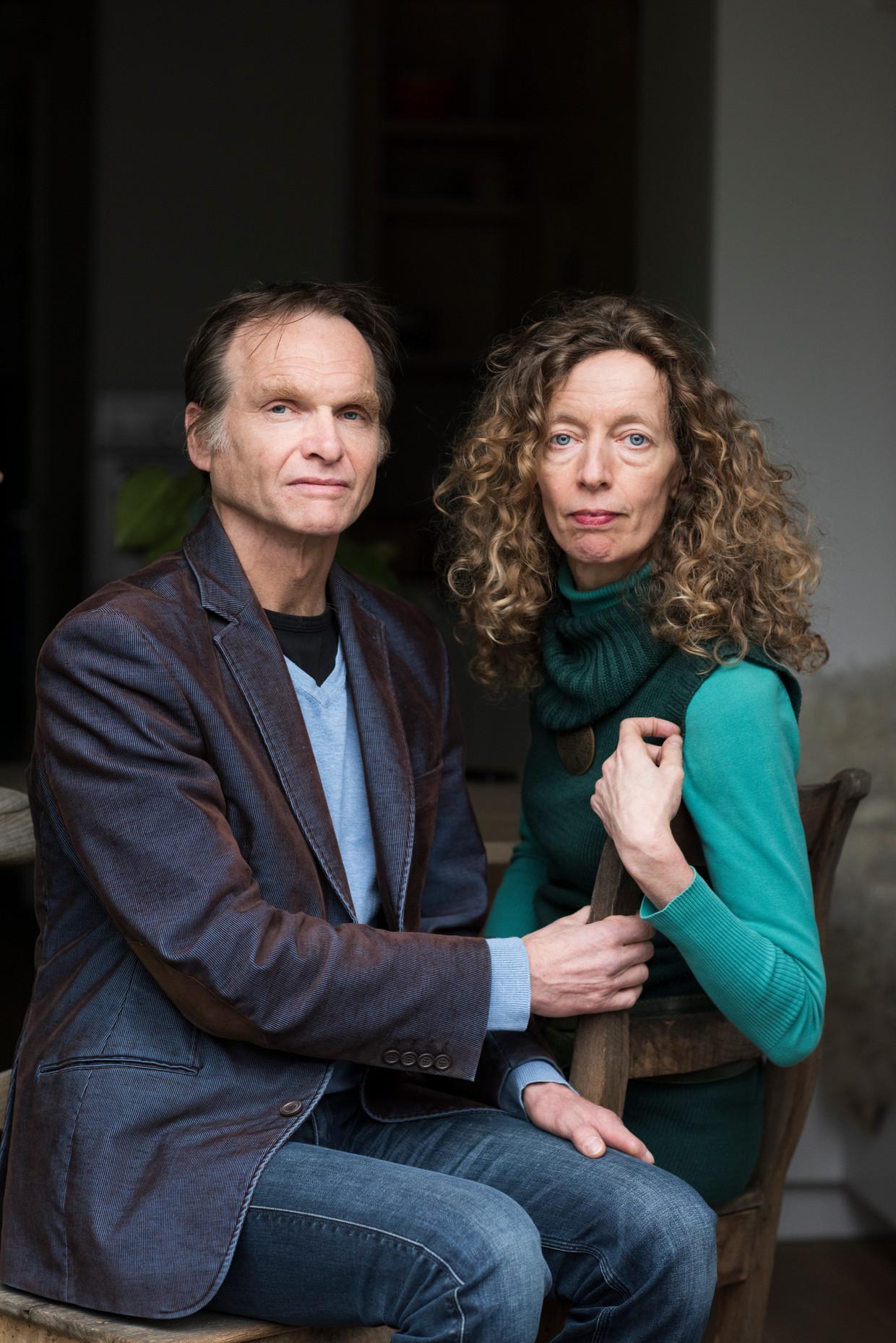 Gaston Remmers en Titia Bloemhof: 'De lockdown zoog de levenslust uit Pepijn. De sprankeling die hij had, verdween.'  Beeld Linelle Deunk