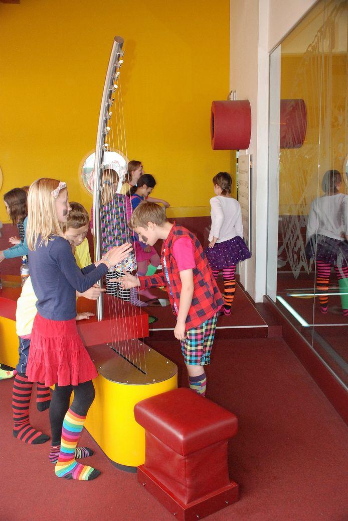 Ook kinderen vinden hun gading in het museum.