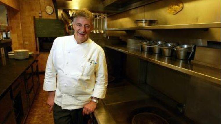 Sterrenchef Jean-Pierre Bruneau van het gelijknamige restaurant in het Brusselse Ganshoren.