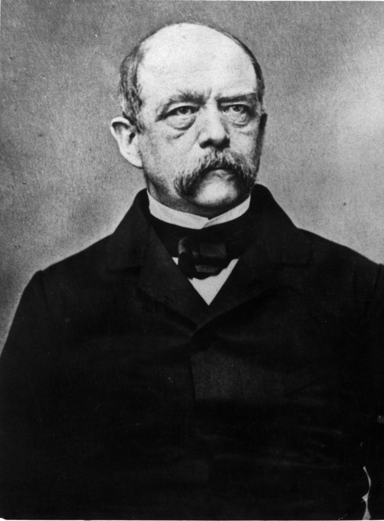 Otto von Bismarck  rond 1870.  Beeld Getty