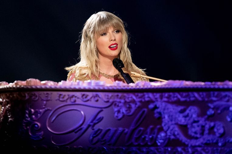Taylor Swift Beeld Getty Images for dcp